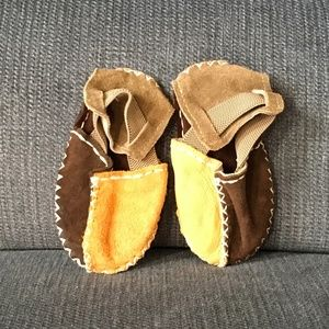 Other - Adorable Baby Suede Stitched Shoes
